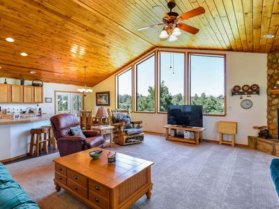 Photo for NEW LISTING! Spacious, dog-friendly rental w/ fireplace & deck - near town & ski