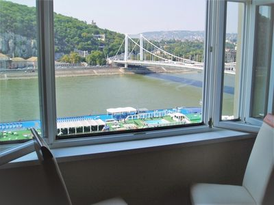 Photo for Breathtaking Danube View From Window In Heart Of The City Centre - Very Special