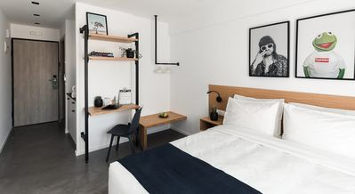 Photo for PAME House - Near Monastiraki and the Acropolis - Double room with balcony