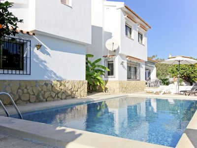 Photo for Vacation home Bellota in Moraira - 9 persons, 4 bedrooms
