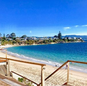 Photo for NEW LISTING! Beachfront Living!  *Amazing Location*  sunsets, sand, serenity...