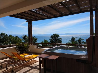 Photo for CASA CORAL a luxuriously finished beachfront condo part of Los Veneros
