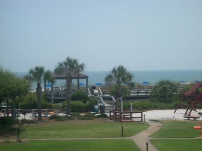 Photo for Ocean View Villa, 2nd fl, #3204 Island Club, Pool, hot tub, free wi-fi, tennis