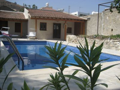 Photo for Charming Traditional Cypriot Cottage in the Heart of Pissouri with  private pool