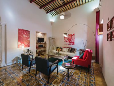 Photo for Charming home for families in bustling Mérida.