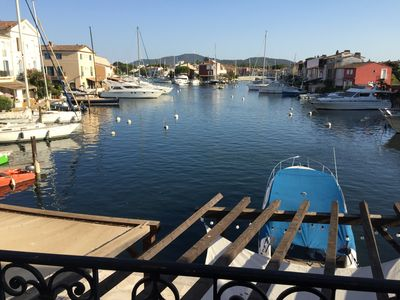 Photo for Recently Refurbished four bed Villa in the heart of Port Grimaud.