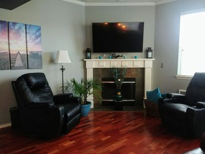 Photo for New Listing! Rare & Beautiful 3 BR 3 BA Condo steps from the Columbia River