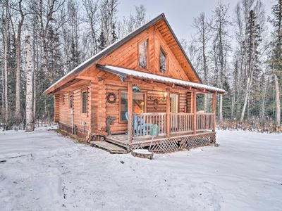 Photo for Central Wasilla Cabin 5 Mins from DT & Lucile Lake