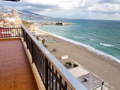 Photo for Spectacular! First line of the beach! Floor 11! 3 Rooms - 2 bathrooms - Terrace!