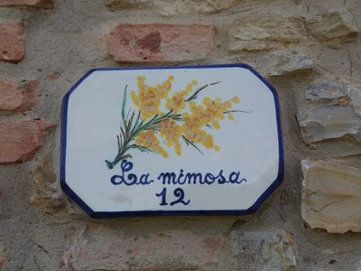 Photo for MIMOSA - Apartment in an old market town near San-Gimignano