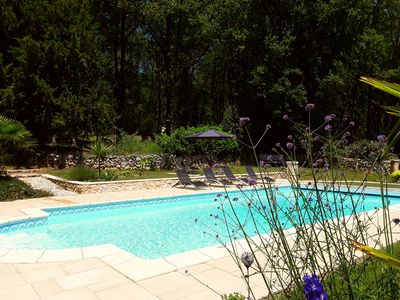Photo for La Petite Maison,Stunning 2 bedroom cottage set in 42acres of land, shared pool