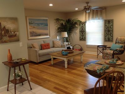 Photo for AWESOME Spacious Townhome W/Garage, Pool,  5 Minute Walk To Beach, Sleeps 4