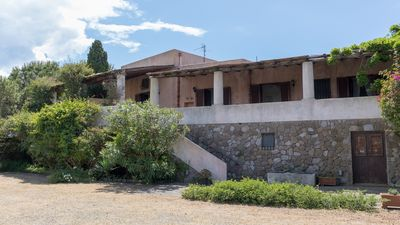 A view of the Villa from the garden