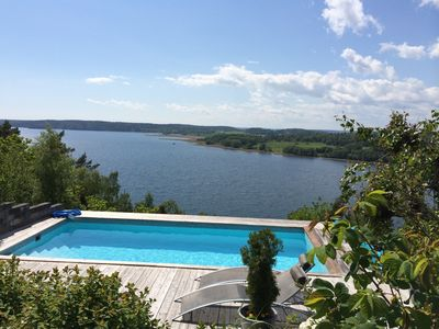 Photo for Two House - With Pool And Fantastic Sea View