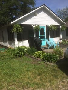 Photo for Charming 5 bedroom cottage Steps to the sandy beach on the lovely Lake Erie