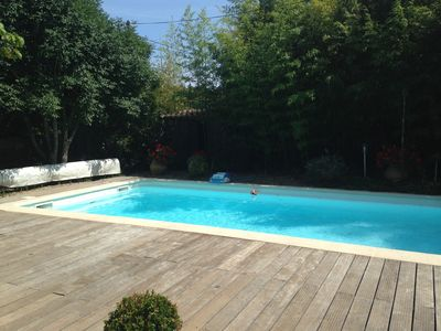 Photo for Beautiful and very nice quiet house with pool 8 people