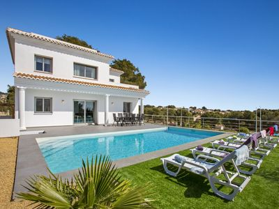 Photo for Modern villa with private pool in Calpe