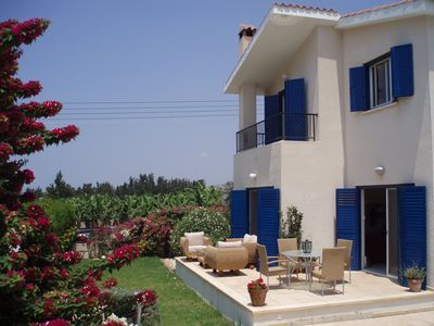 Photo for Spacious Villa With Solar Heated Pool, Large Peaceful Garden And Great Views