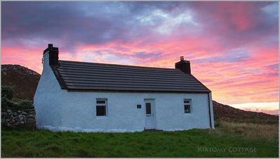 Photo for Morrisons Cottage, Kirtomy, off the Northcoast 500 set in a peaceful valley.