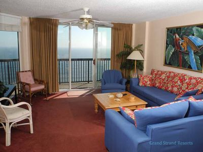 Photo for Ashworth Unit 1505! Stunning Ocean Front Condo! Book your get away today!