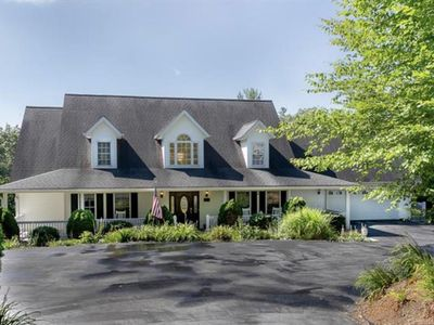 Photo for Brook Knoll - SPECTACULAR property, Hot Tub, Private Pool; Asheville Destination!  Close to town.