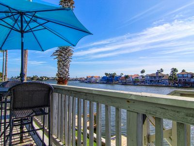 Photo for NEW LISTING! Updated bayfront condo w/shared pool & decks - near beaches & park
