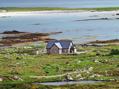 Photo for Spacious stone faced house in exceptional location beside the sea…