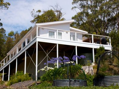 Photo for Wallaby Cottage - a peaceful Bruny Island retreat with a beautiful view