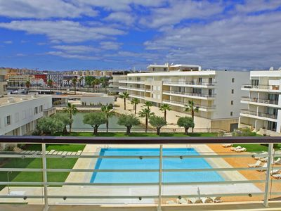 Photo for Superb apartment in private condominium in Marina de Lagos