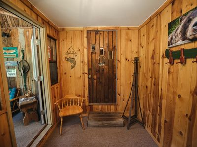 Photo for Large, Cozy, Fishing-Friendly AuSable River Cabin Retreat