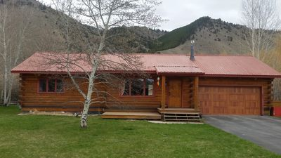 Photo for Modern Cozy Cabin in Jackson Hole, south of town, bike path, near national parks