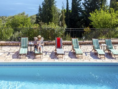Photo for 2020EarlyJulyOffer -10% At VillaPoseidon with Pool Ideal For Families Until 18/7