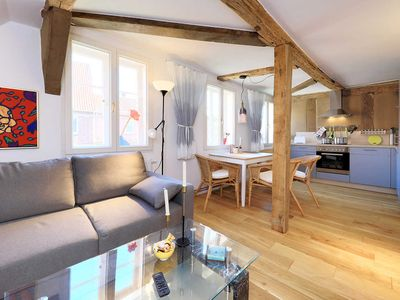 Photo for at Lüneburg luxury under the roof in the monument-FeWo3 - guesthouse Alte Schmiede in Bleckede