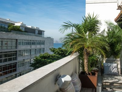 Photo for Rio068-Penthouse located just 30 meters from the beautiful Ipanema Beach.