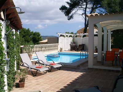 Photo for Holiday House Costa Canyamel with private pool 4-6 people Golf and sea incl NK
