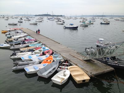 Vibrant active local boating community