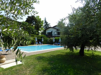"""Photo for STUDIO """"RESIDENCE ALLEGRA"""" WITH POOL, WIFI, AIRCO, BIG GARDEN WITH BBQ"""