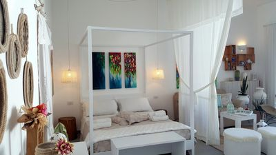 Photo for Romantic apartment with garden in the heart of Salento