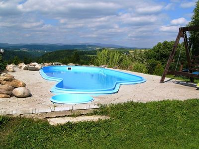 Photo for Luxury Cottage near Ski area with Private Pool