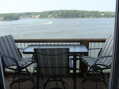 Photo for On the Water with Awesome Main Channel Views - 3bed/2bath - Best Lakefront Value