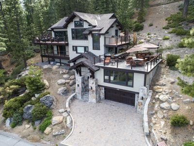 Photo for LAKE TAHOE LUXURY CRYSTAL BAY WITH PANORAMIC LAKE VIEWS!