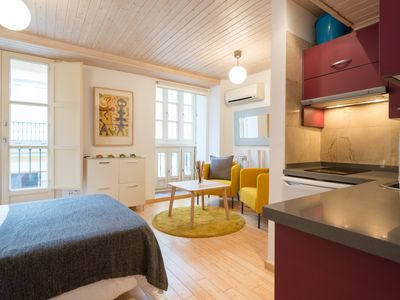 Photo for Cozy studio with balcony in the historical center