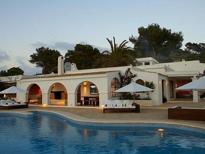 Photo for 6 bedroom Villa, sleeps 12 in Es Cubells with Pool and WiFi