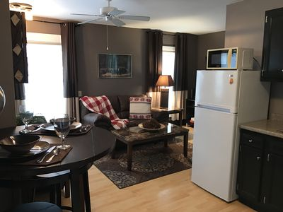 Photo for Cozy 2 bedroom apartment in the village of Lake Placid
