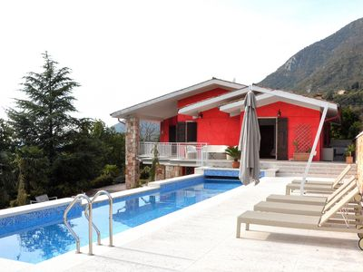 Photo for Villa Rossa Up To 10 People With Pool - Villa for 10 people in Caprino Veronese
