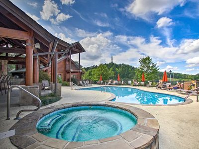 Photo for NEW! Cozy Pigeon Forge Condo w/Pool Access & Deck!