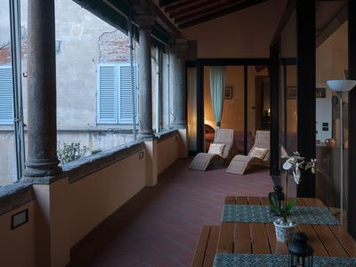 Photo for Residenza La Loggia Capece, house with 2 rooms and private lodge in the Holy Spirit