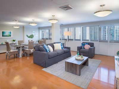 Photo for Absolutely spectacular 3 Bedroom 2 Bath at Royal Aloha in Waikiki