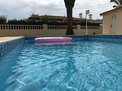 Photo for VILLA WITH SWIMMING POOL AND PRIVATE TENNIS TRACK AT 30 MTS FROM THE BEACH!