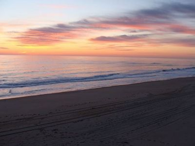 Photo for Fresh, Clean, Oceanfront Beach Condo At OBX 2 Bedroom, 2 Bath
